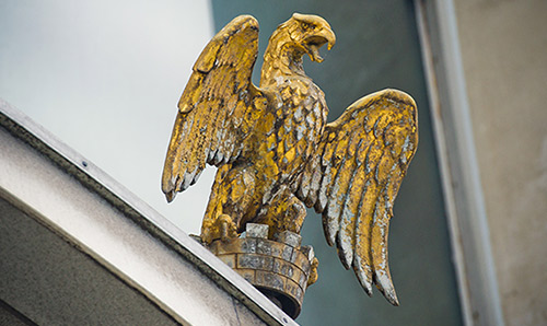 Eagle on Manchester Crown Court