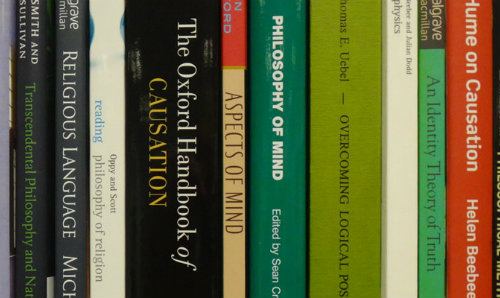 Books authored or edited by Philosophy staff.