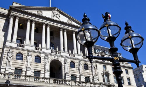 The Bank of England exterior