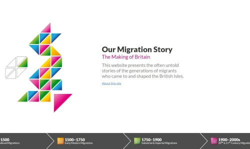 Our migration story by Claire Alexander.