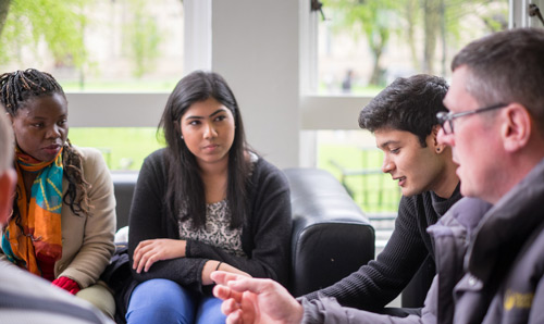 Postgraduate students in Social Statistics at Manchester